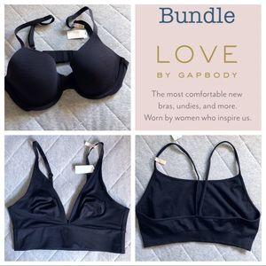 NWT Love by Gap Body Bundle of 3